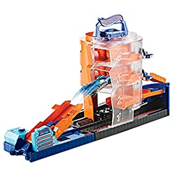 Kid-favourite sets that rev the imagination and unlock storytelling action. Multiple features for hours of epic fun with friends. Hot Wheels City sets focus on thrilling performance with recognizable locations and surprising action. Connect set...