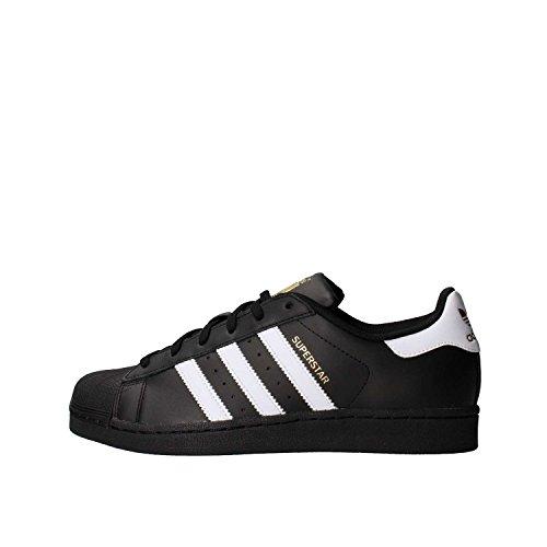 adidas Originals Superstar Foundation Shoes, Scarpe da Ginnastica Uomo, Nero Core Black/Ftwr White/Core Black, 36 EU