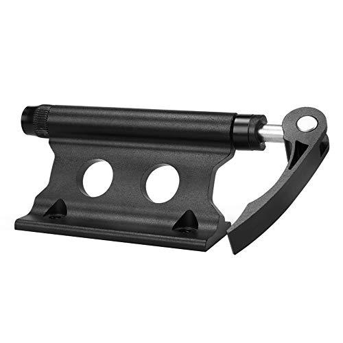 Fahrradblock Gabelhalterung Aluminiumlegierung Schnellwechselblock Schwarz Vorderradgabel Befestigungshalter Fahrradtransportwerkzeuge zum Transportieren von Fahrrädern und zum Tragen
