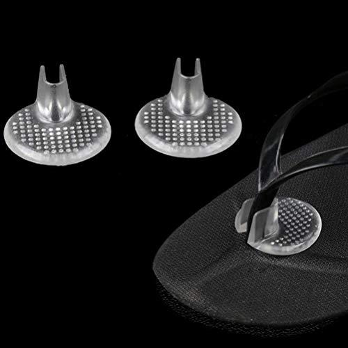 5 paar Zehenschutz Kissen für Flip Flops Silikon Kissen Pads Toe Separator Protector füße pflege werkzeug fuß pad Für Flip-Flops Fußpflege Werkzeug