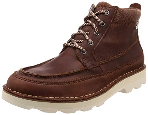 Clarks Herren Korik Rise GTX Chelsea Boots, Braun (British Tan), 41.5 EU