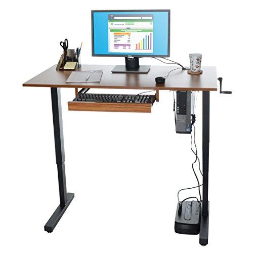 Milliard Height-Adjustable Standing Desk (48 x 24in Desktop)