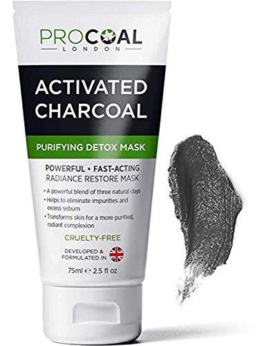 chiarisce 3 Carbone Puro argille Loreal PURA CLAY Detox Maschera disintossica