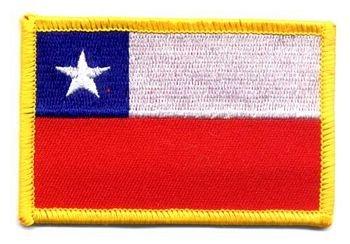 Flaggen Aufnäher Patch Chile Fahne Flagge NEU