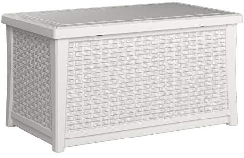 Suncast Elements 30 Gallon Coffee Table Storage Box