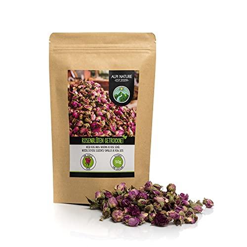 Rosknoppar torkade (50g), Rosknoppar Infusion, Rosknoppar Tea, torkade rosenblad, Rose Tea, 100% ren och naturlig