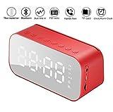 DONYKARRY Thermomètre Multifonction avec Réveil avec Haut-Parleur Bluetooth,...