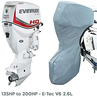 Oceansouth Evinrude Outboard Storage Full Cover E-Tec V6 2.6L 135HP - 200HP, 25