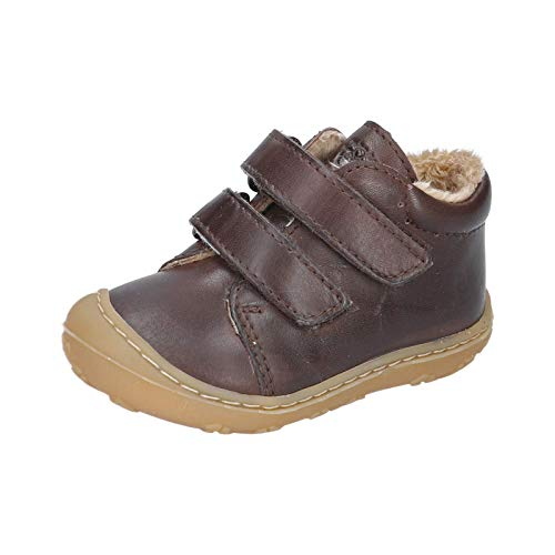 RICOSTA Unisex - Kinder Lauflern Schuhe Crusty von Pepino, Weite: Mittel (WMS), Kids junior Kleinkinder Kinder-Schuhe toben,Marone,21 EU / 5 Child UK