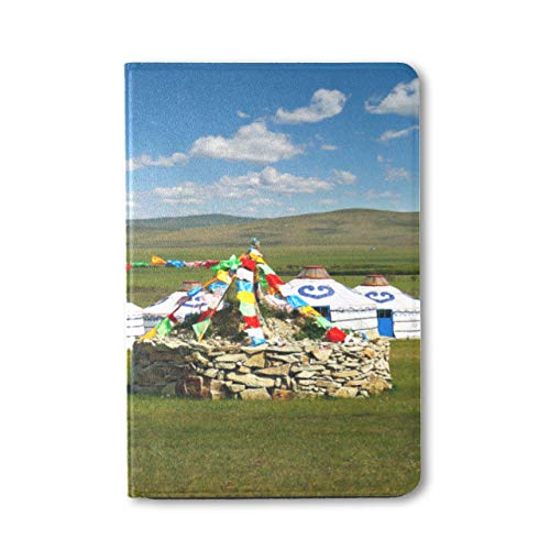 Plsdx Ipad Mini Covers Traditional Mongolian Yurts Ipad Mini Protector Cover Ipad Mini 1/2/3 Auto Sleep/wake With Multi-angle Viewing For Ipad Mini 3/ Mini 2/ Mini 1