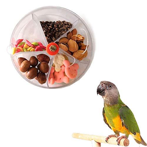 Pájaro Forrajeo Juguete, Juguete de Alimentación para Loros de Pájaros, Juguete de Masticación de Forrajeo, Alimentador de Pájaros, para Loros, Periquitos, Cacatúas, Conure, Lovebird