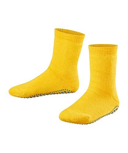 FALKE unisex-Kinder Socken, Catspads K CP-10500, Gelb (Sun 1180), 31-34