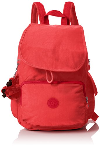 Kipling City Pack, Mochilas para Mujer, Rojo (Spicy Red C), 32x37x18.5 cm