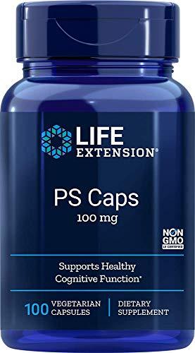 Life Extension Phosphatidylserine Vegetarian Capsules, 100 mg, 100 Count
