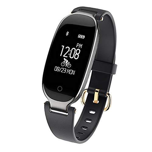 Smart Watch 2019 Fashion Smart Watch Dames IP67 waterdicht hartslagbewaking hartslagmeting Relogio Smartwatch iOS Android Stuur het beste cadeau van vrouw XUMIN, C.