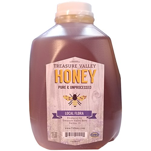 3lb Treasure Valley Honey Raw Unprocessed Fresh