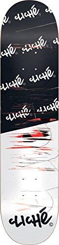 Unbekannt Cliche Skateboard-Deck Scratch, Mehrfarbig, 8.125, 10026384
