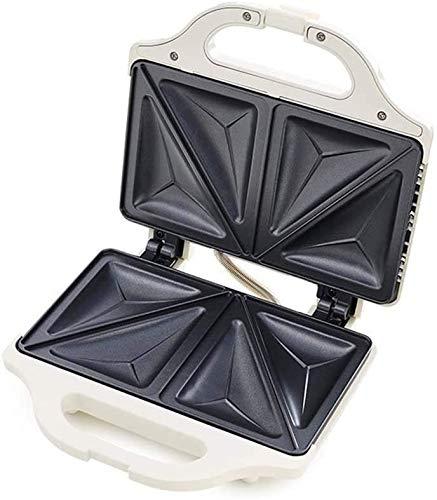 Brotmaschine Sandwich Maker Clean Leicht zu reinigende Antihaft-Sandwich- und Waffeleisen mit abnehmbaren spülmaschinenfesten Platten 2-Scheiben