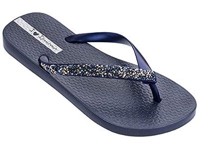 Ipanema Pebble Women's Flip Flops, Blue/Blue (7 US)