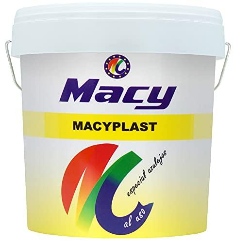 Macy Masilla Acrílica Macyplast Al Uso, Para Interior y Exterior, Envase de 250 Gramos, Blanco