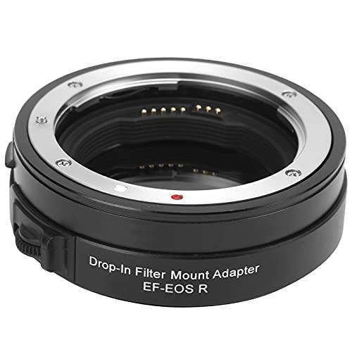 214 Adaptador de Montaje de Lente de Filtro CPL enchufable de Enfoque automático AF de aleación de Aluminio EF-EOS, para Lentes de Montura para Canon EF/EF S para cámaras de Montura para Canon R