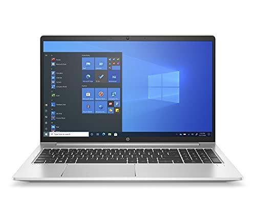 HP ProBook 455 G8 (15,6 Zoll / FHD IPS) Business Laptop (AMD Ryzen 7 5800U, 32GB RAM, 1TB SSD, AMD Radeon Grafik, Windows 10 Pro, Fingerprintleser, QWERTZ) Silber