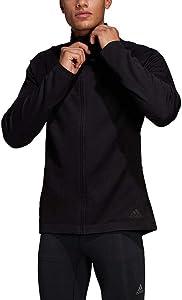 adidas Running Ultra Track Jacket, Black/Carbon