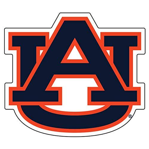 Craftique Auburn Tigers Decal (ORG/BLU AU Decal (3,4,6,12,18), 6 in)