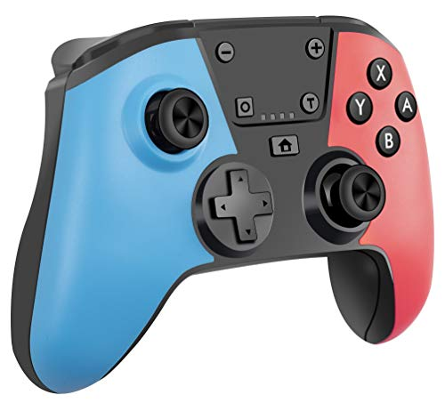 Wireless Switch Game Controller Remote NS Gamepad Pro Controller for Nintendo Switch/Lite Console Supports Wake Up 6-Axis Gyro Turbo Screenshot and Dual Vibration