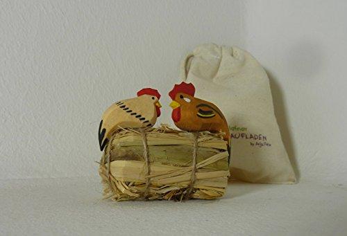 Hühnchen & Hähnchen Lotte Sievers-Hahn 3 und 4,5 cm Krippenfigur