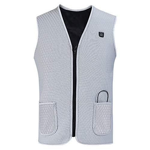 FRDF Warme vest, verwarming met USB, wasbare elektrische verwarmingskleding