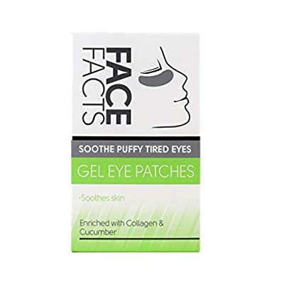 Pretty Soothe Eye Gel Puffy Tired Eye Patches, Pack of 4 from Pretty