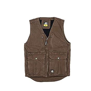 Berne Men s Echo One Zero Vest XXXXXXXX-Large Regular Bark