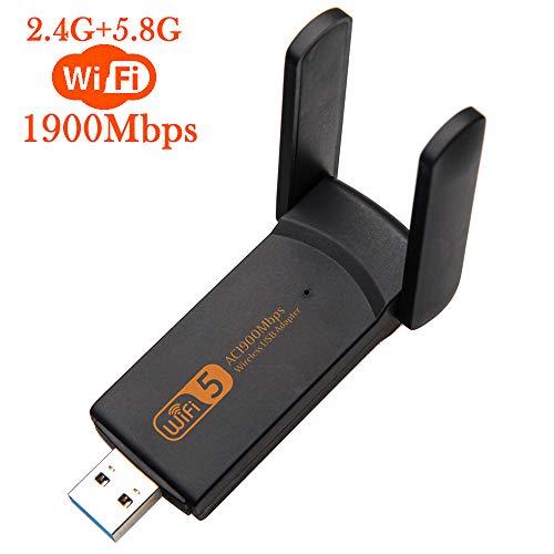 Gerichy Bluetooth 5.0 Wireless Network WiFi Dongle