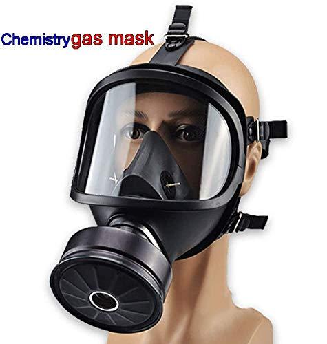 Sooiy Química antigás de Química Biológica, Y por contaminación radiactiva autocebante Mascarilla Facial de la máscara de Gas clásico