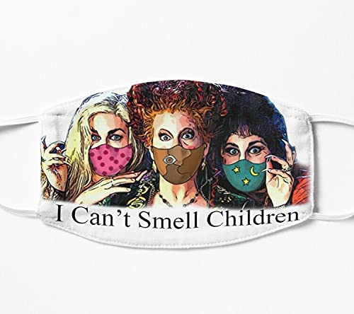 HANYACH Halloween Hocus Pocus I Mask Many popular brands Children Bargain Smell Can't Face