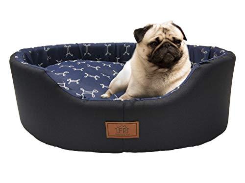Cama Fábrica Pet para Cães, Grande, Azul