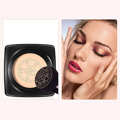 Foundation-Pinsel Make-up Schwamm Puderquaste Kit -Mushroom Bilden+Wasserdicht Essentials BB Cream 20g Feuchtigkeitscreme für ein ebenmäßiges Hautbild