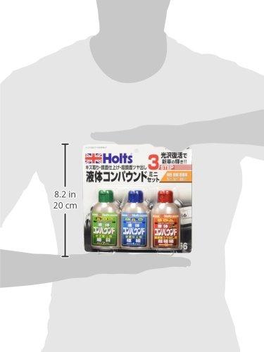 ホルツ液体コンパウンドリキッドコンパウンドミニセット細目・極細・超極細80mlx3本セットHoltsMH956