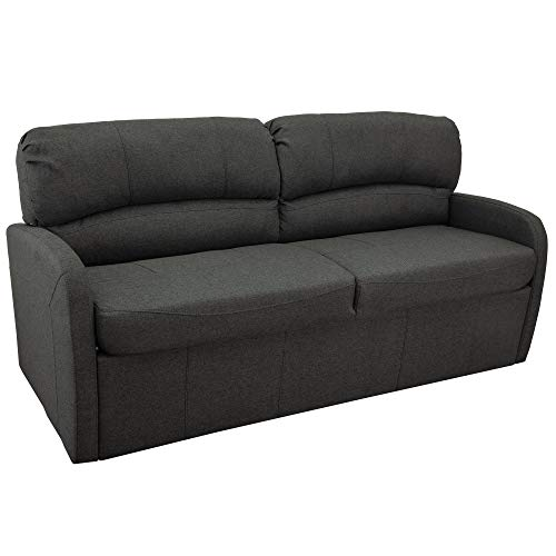 "70"" RV Jack Knife Sofa w/Arms   RV Sleeper Sofa   RV Couch   RV Living Room (Slideout) Furniture   RV Furniture   Camper Furniture (Fossil)"