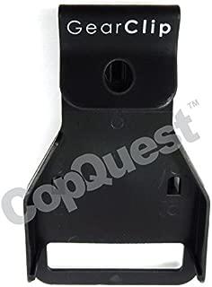 GearClip Duty Belt Hanger - All Leather Belts with Metal Buckles