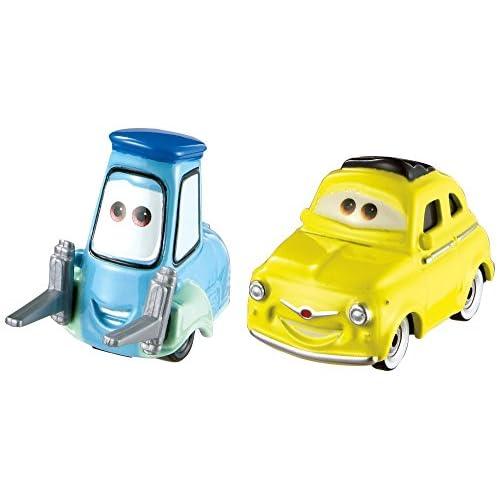 Disney Cars- Veicolo Luigi & Guido, FJH93