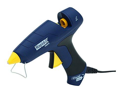 Rapid 5000425 CG270 Kabellose Heißklebepistole ø12mm, 250 W, Blau