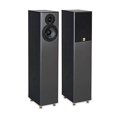 TIBO Legacy 5+ | Passive Hi-Fi Floor Standing Speakers | 200W | Black 23019 from TIBO