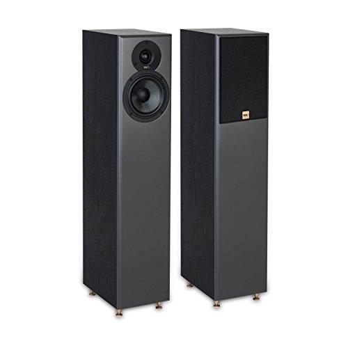 TIBO Legacy 5+ | Passive Hi-Fi Floor Standing Speakers | 200W | Black 23019