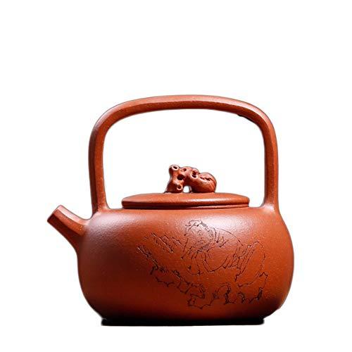 HePing Wu Teekanne Erz Gefälle Eimer Schlamm Töpfe schlafen liegend Wolke Stein Hand Teekanne Technik (Color : Downhill mud)