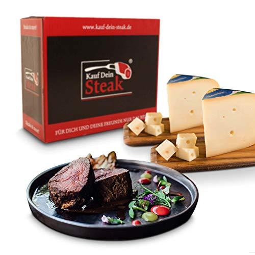 KDS Rumpsteak, Rip-Eye-Steak, T-Bone-Steak alles DRY AGED, Bauernkäse Gouda mittelalt, Steakpfeffer, Knoblauchpfeffer, Steakbutter 4,1kg schlemmen, grillen, geniessen