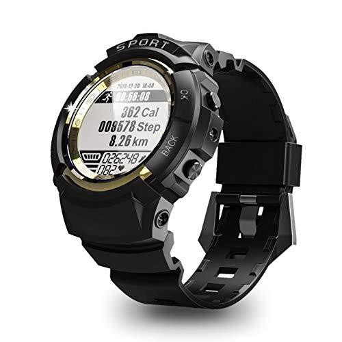N \ A GPS-Smartwatch für den Außenbereich,1.2-Zoll-Touchscreen, wasserdichte 50-Meter-Schrittzähleruhr, Fitness-Tracker-Uhr mit Herzfrequenz-Schlafmonitor, Smartwatch für Android- und iOS-Telefone