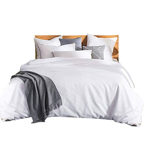THXSILK Silk Comforter for Winter with Cotton Shell, Silk Filled Comforter,Silk Quilt, Silk Duvet -Ultra Soft, Light Weighted-100% Top Grade Mulberry Silk, King Size, White