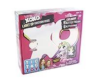 Blip Toys Tic Tac Toy XOXO ホワイトライトアップ ユニコーンハグ&グリッターフレンズ